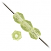 Fire Polished 4mm Olivine Matte